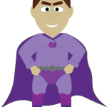 Tax Man Superhero